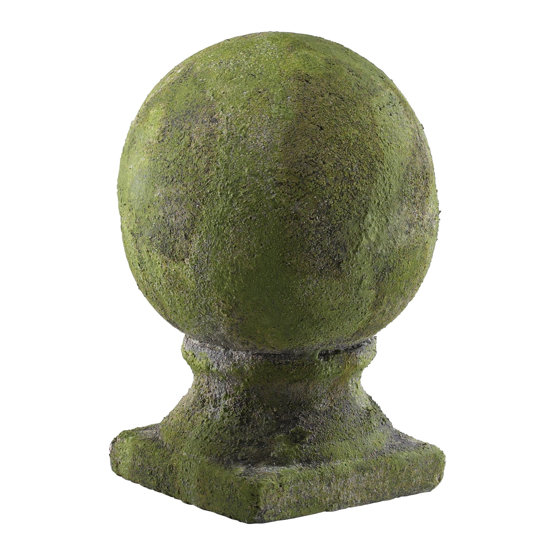 Cyan design 01031 sculptural small mossy garden sphere cn for Sphere garden design