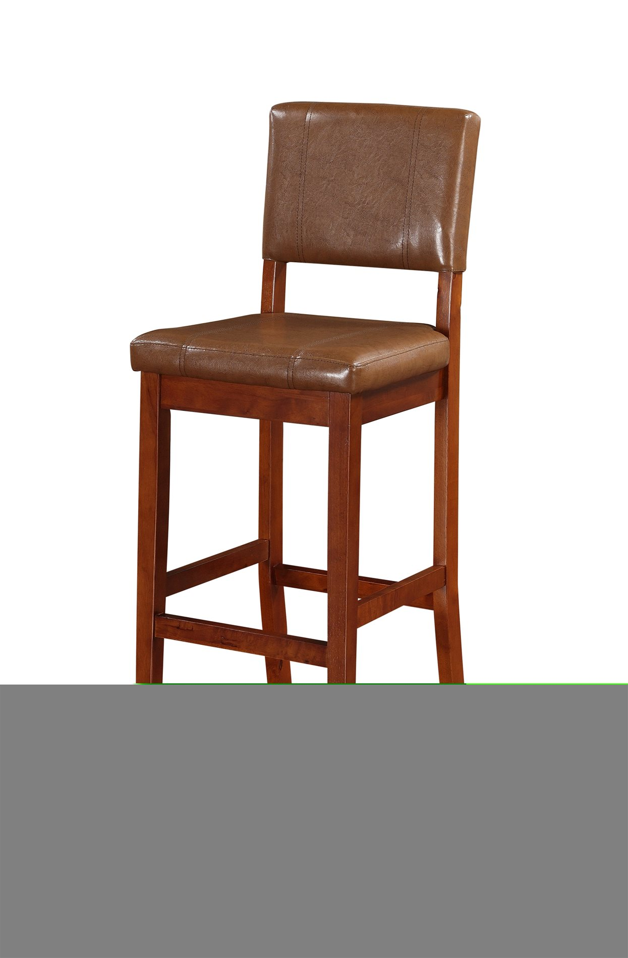 Linon Home Decor 0211rus01u Milano Bar Stool Russet Linh