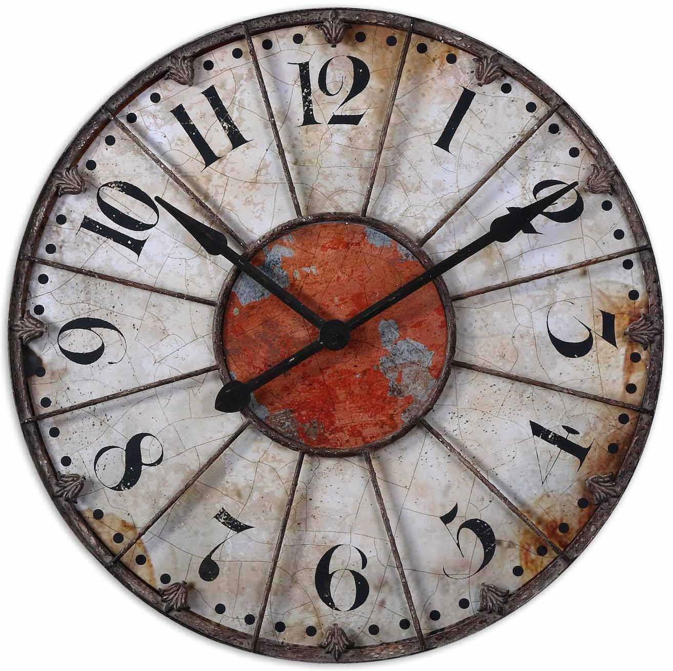 Uttermost 06664 Ellsworth Wall Clock Um 06664