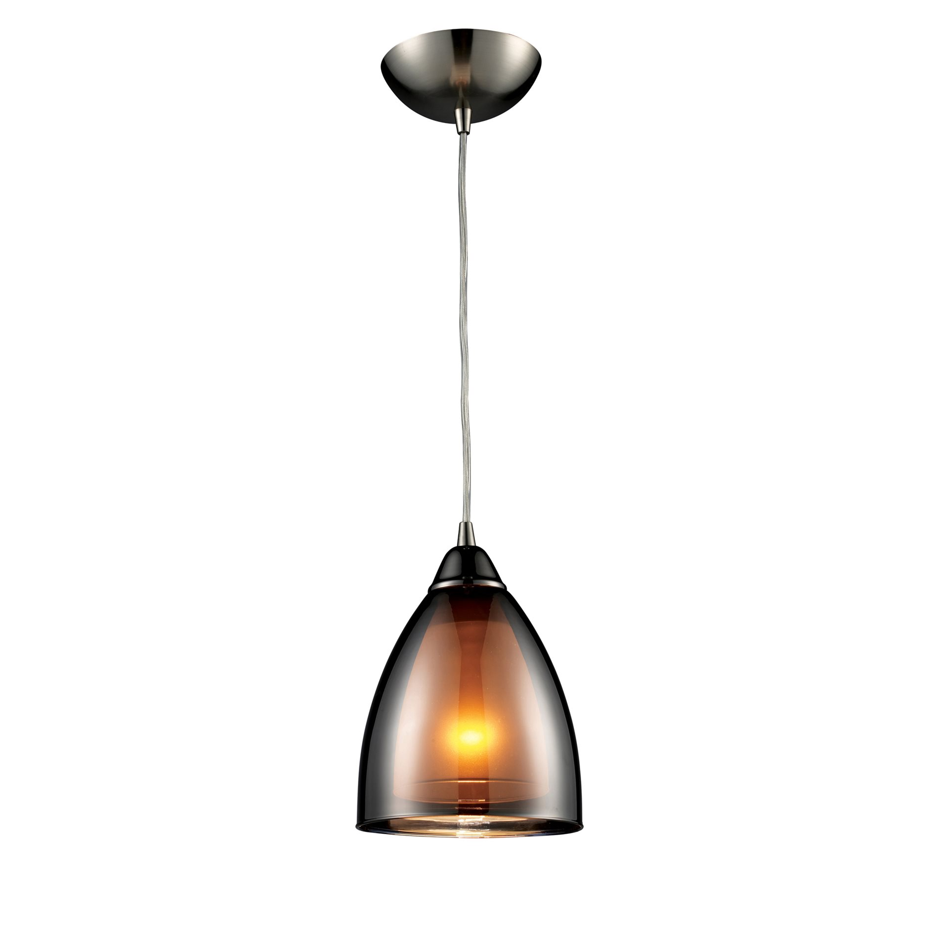 Elk Lighting Fans: Elk Lighting 10053/1 Reflections Transitional Mini Pendant