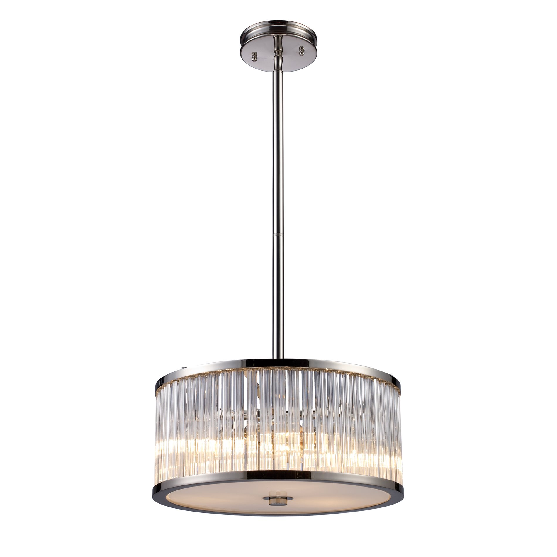 Yosemite Home Decor Braxton Contemporary Drum Pendant Light Xkle 3 82101