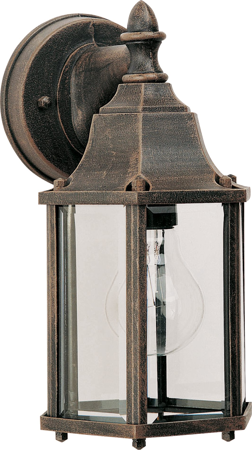 Maxim lighting 1026 builder cast cast aluminum outdoor for Outdoor sconce lighting fixtures