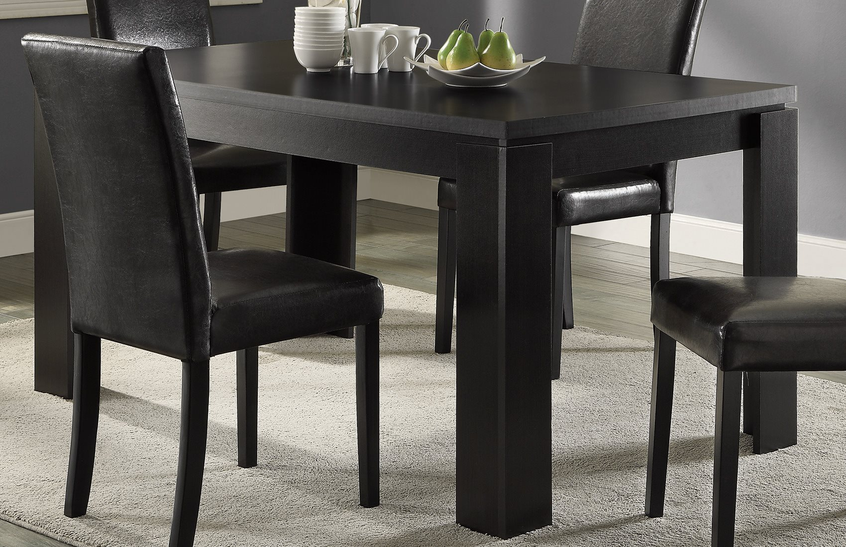 Coaster home 104871 knoxville contemporary dining room for Affordable furniture knoxville tn