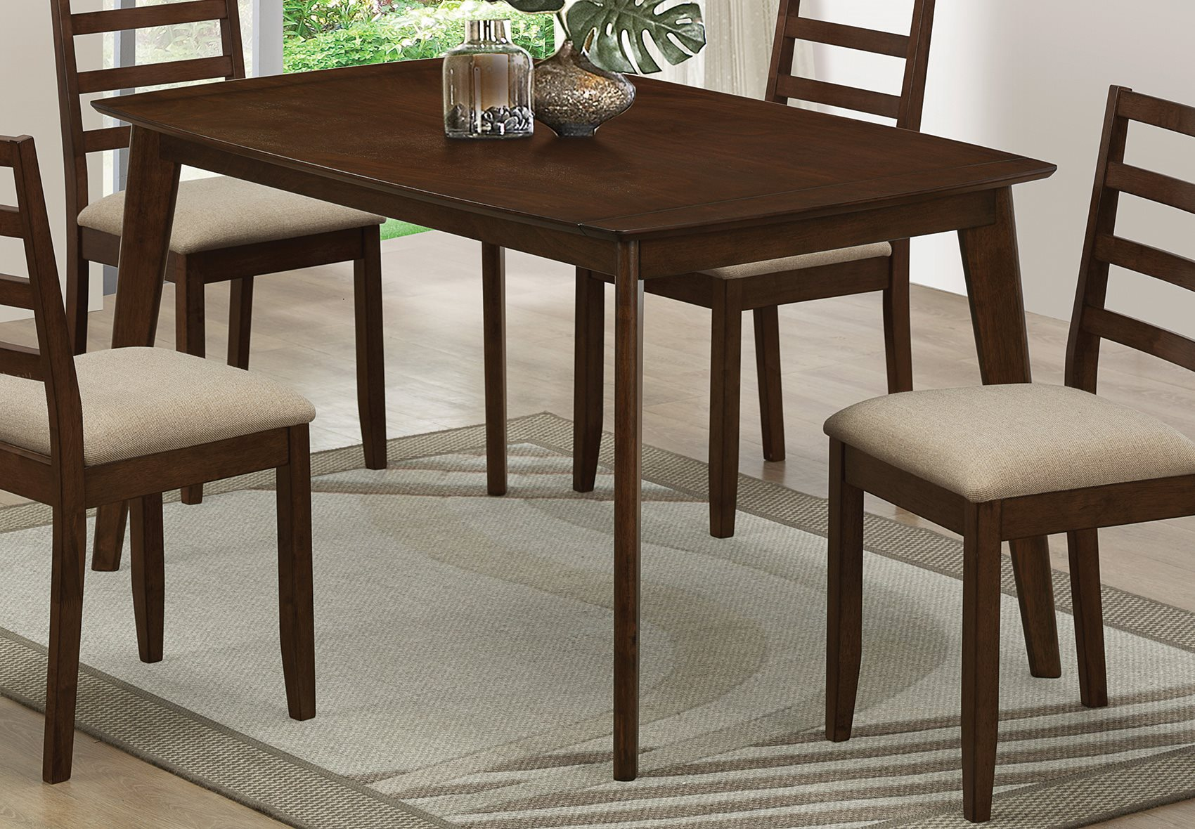 Coaster Home 104961 Mulligan Dining Table with Hidden Pull ...