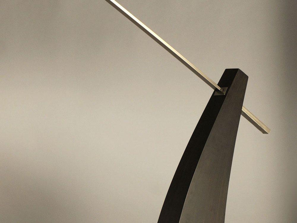 nova lighting 10519 tusk contemporary arc floor lamp nv. Black Bedroom Furniture Sets. Home Design Ideas