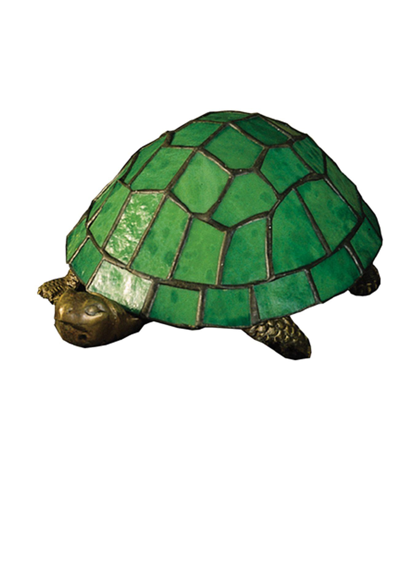 Meyda tiffany 10750 tiffany turtle accent lamp md 10750 - Turtle nite light ...