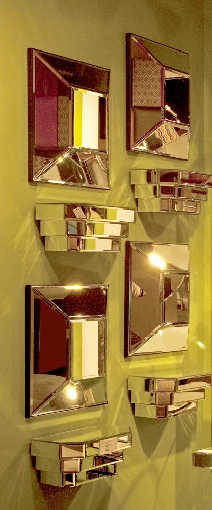 Howard Elliott 11062 Mirrored Wall Shelf Hwe 11062