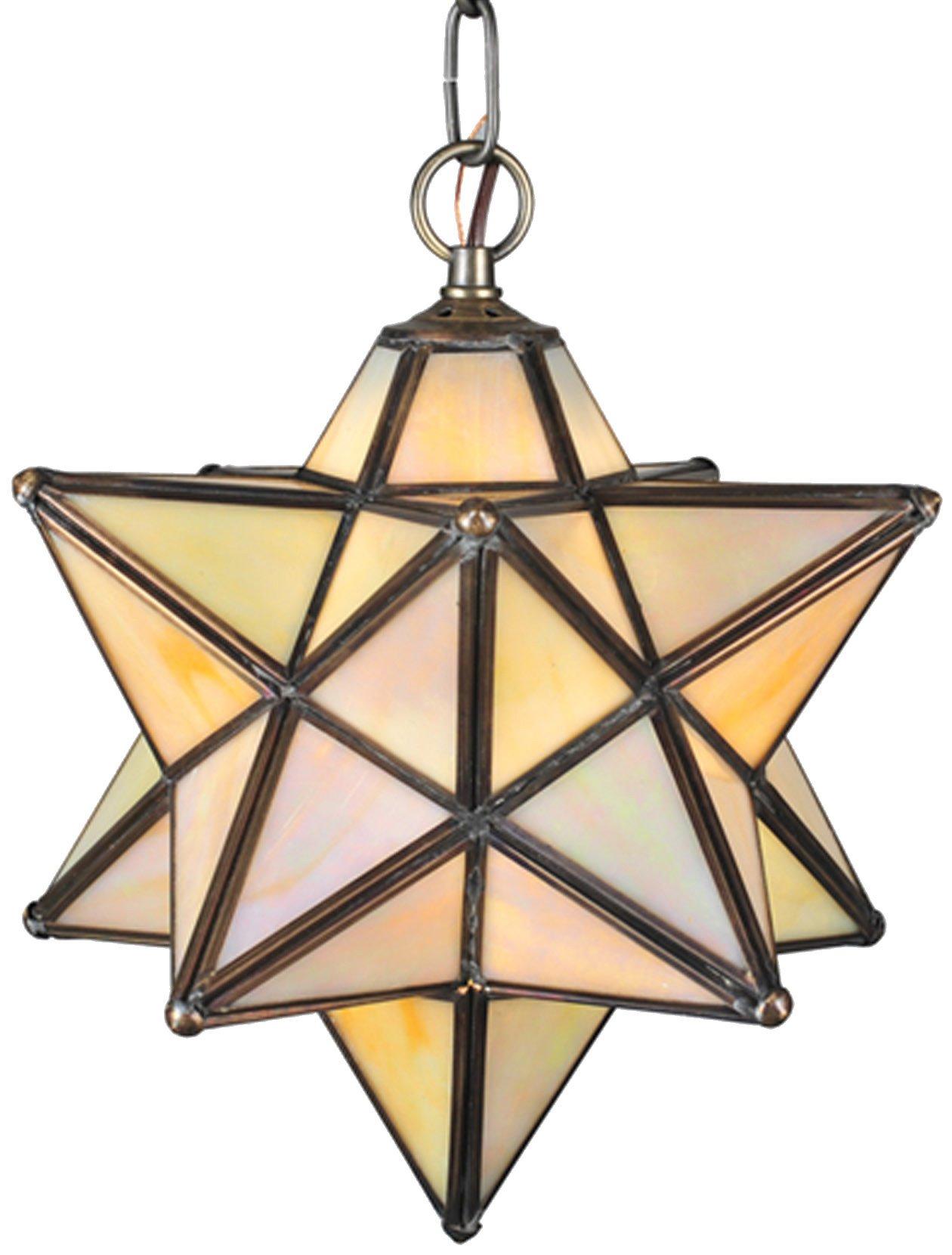 Meyda Tiffany 12123 Moravian Star 9 Modern Contemporary