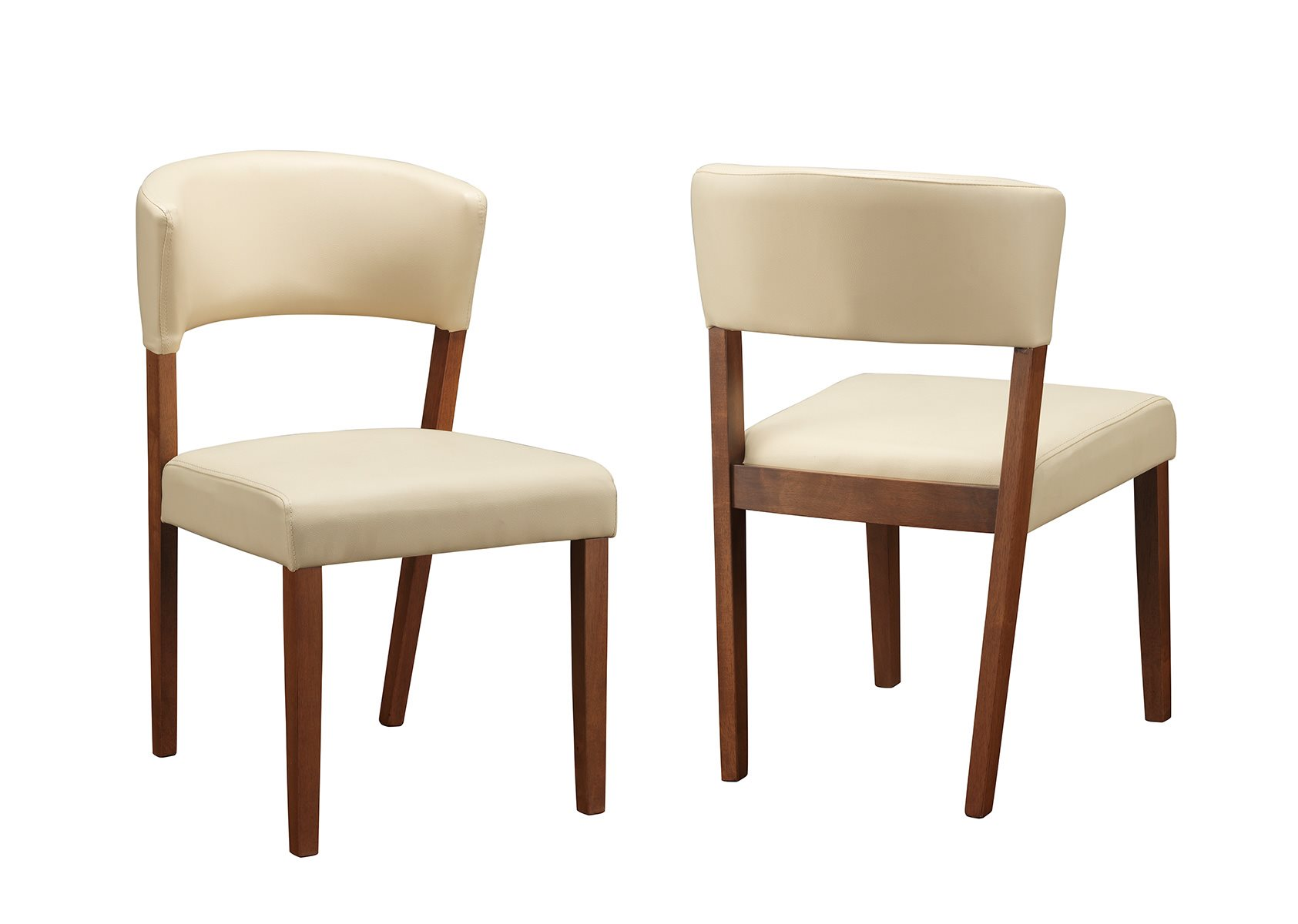 Coaster home 122182 paxton 12218 cream upholstered dining for Cream upholstered dining chairs