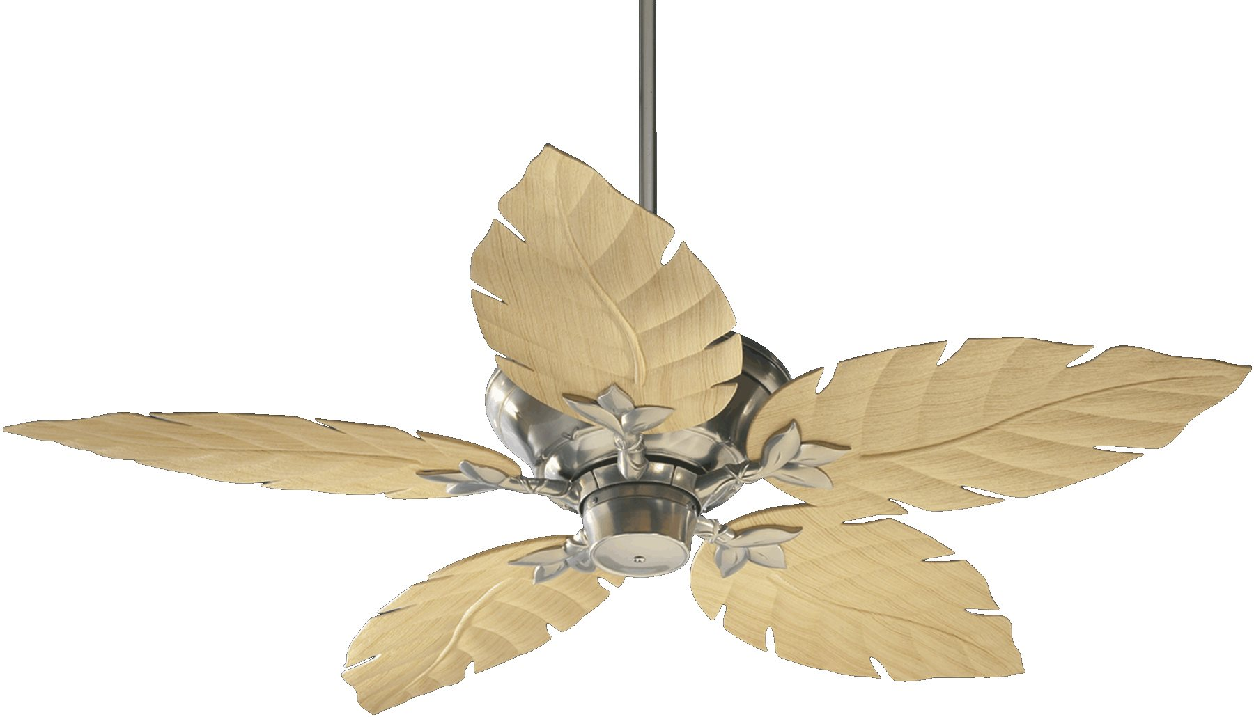 Quorum Lighting Monaco 52quot; Patio Tropical Ceiling Fan QR135525 See