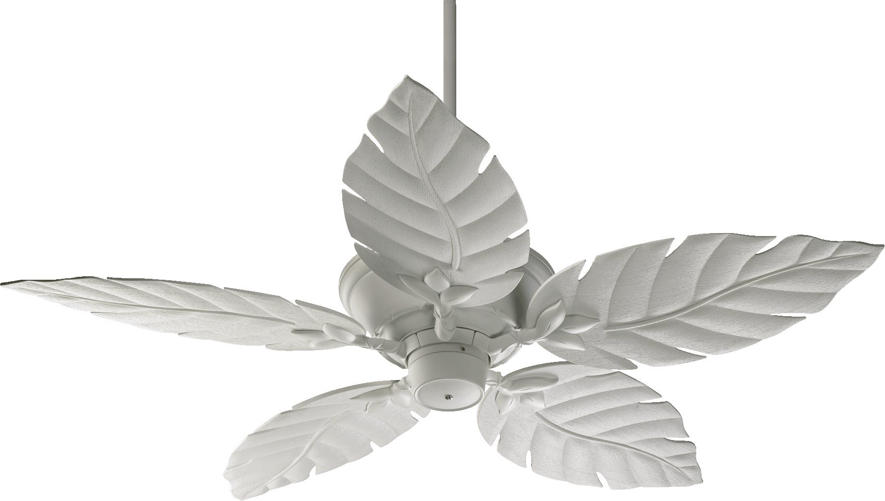 Quorum lighting 135525 monaco 52 patio tropical ceiling fan qr 135525 8 studio white finish with studio white blades aloadofball Image collections