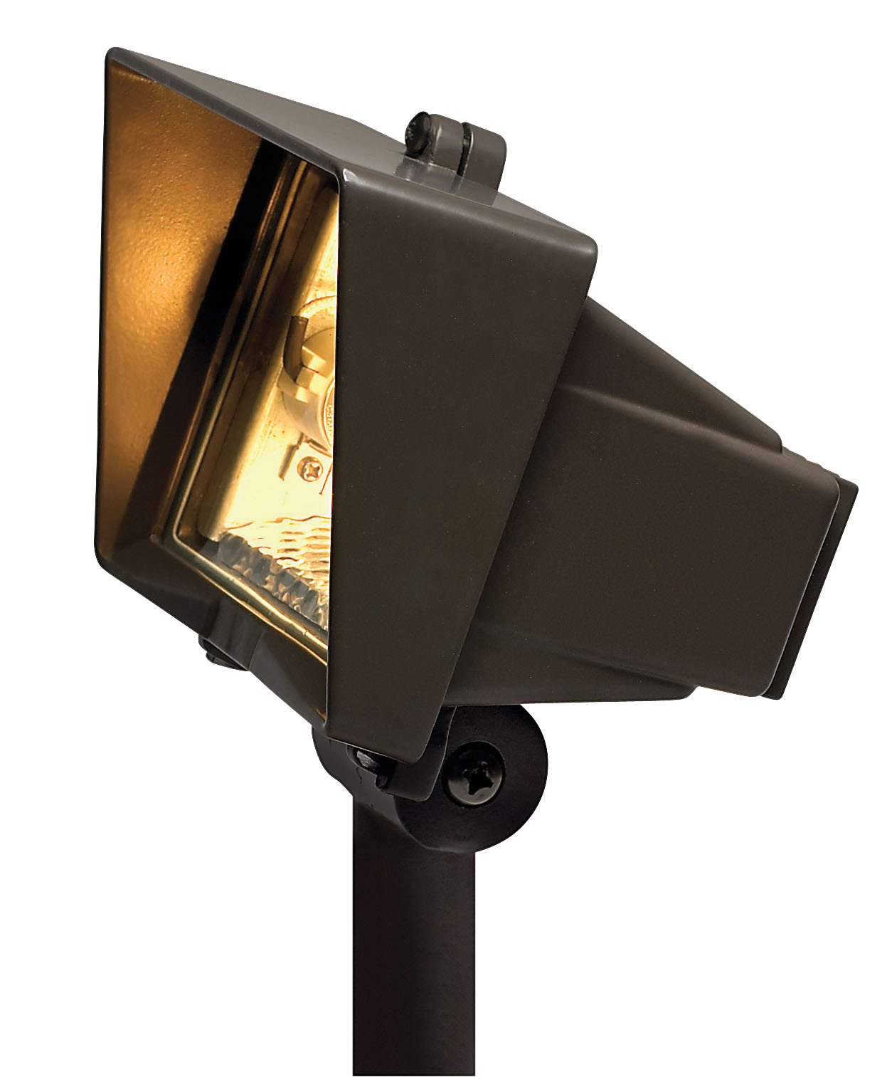 Hinkley Lighting 1520BZ 50W Outdoor Flood Light With Clear