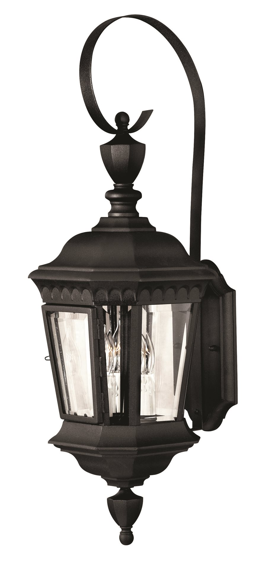 Hinkley Lighting 1704BK Camelot Traditional Outdoor Wall Sconce - Large HK-1704-BK