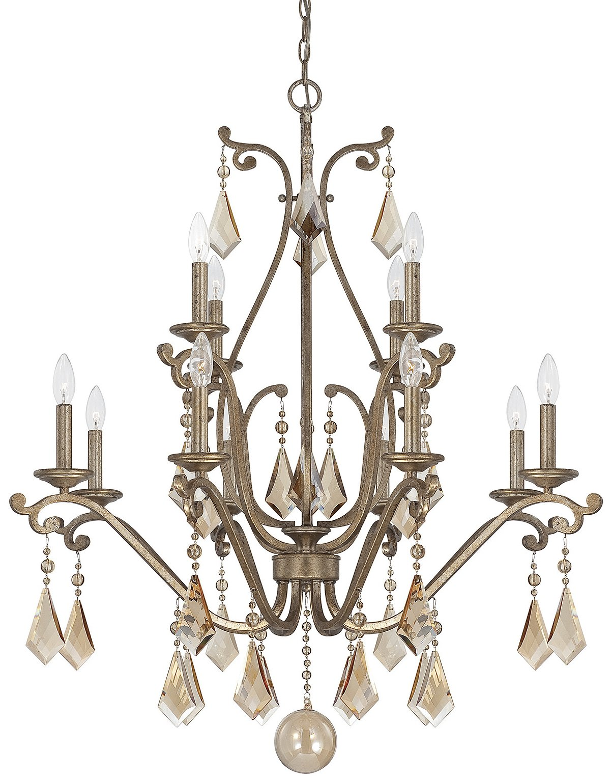 Federico martinez 1 8101 12 128 rothchild traditional crystal chandelier svh 1 8101 12 128 - Traditional crystal chandeliers ...