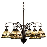 meyda tiffany roman traditional chandelier md18528 - Tiffany Chandelier
