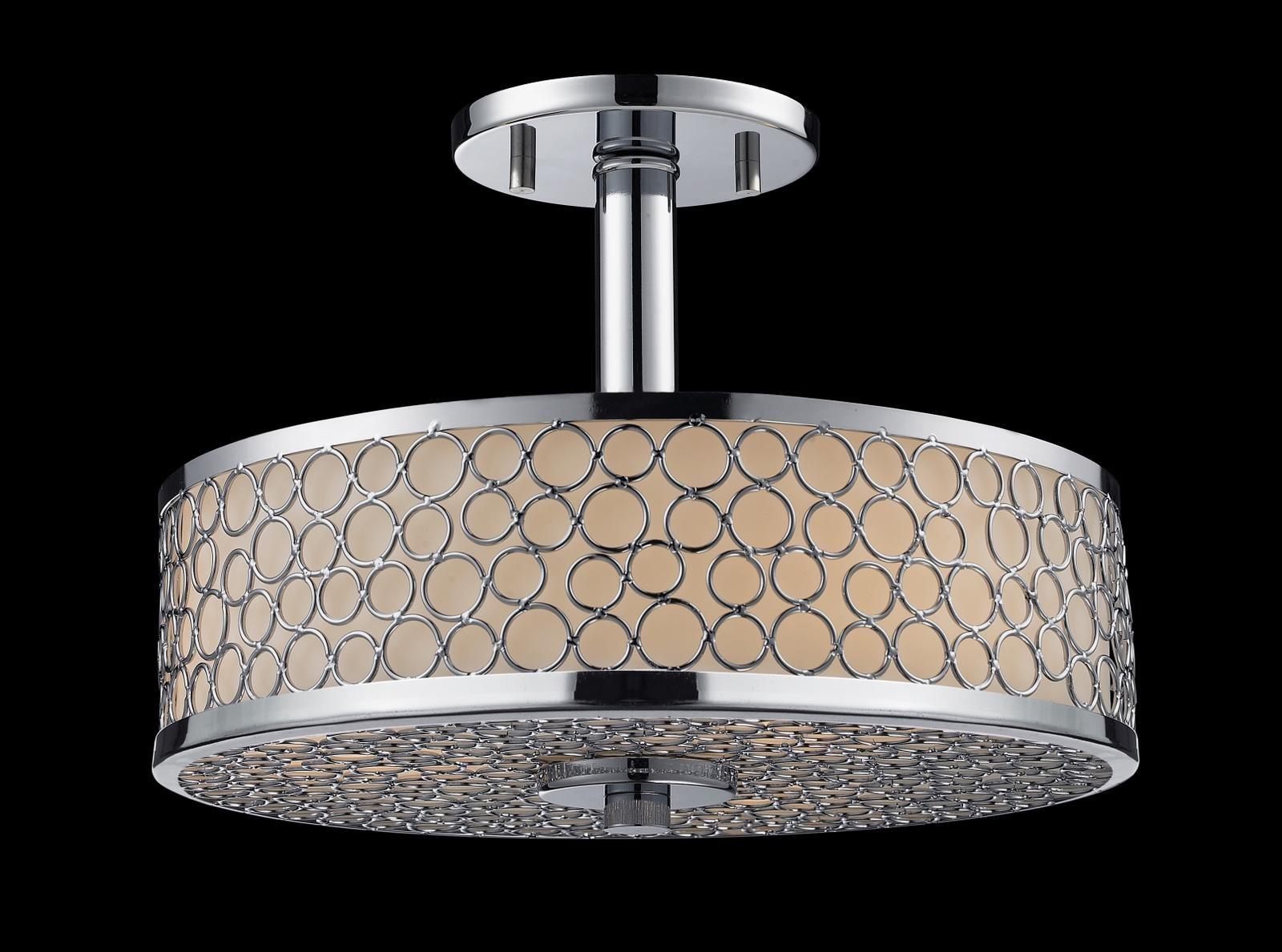 Z-Lite 199SF Synergy Modern / Contemporary Semi Flush ...