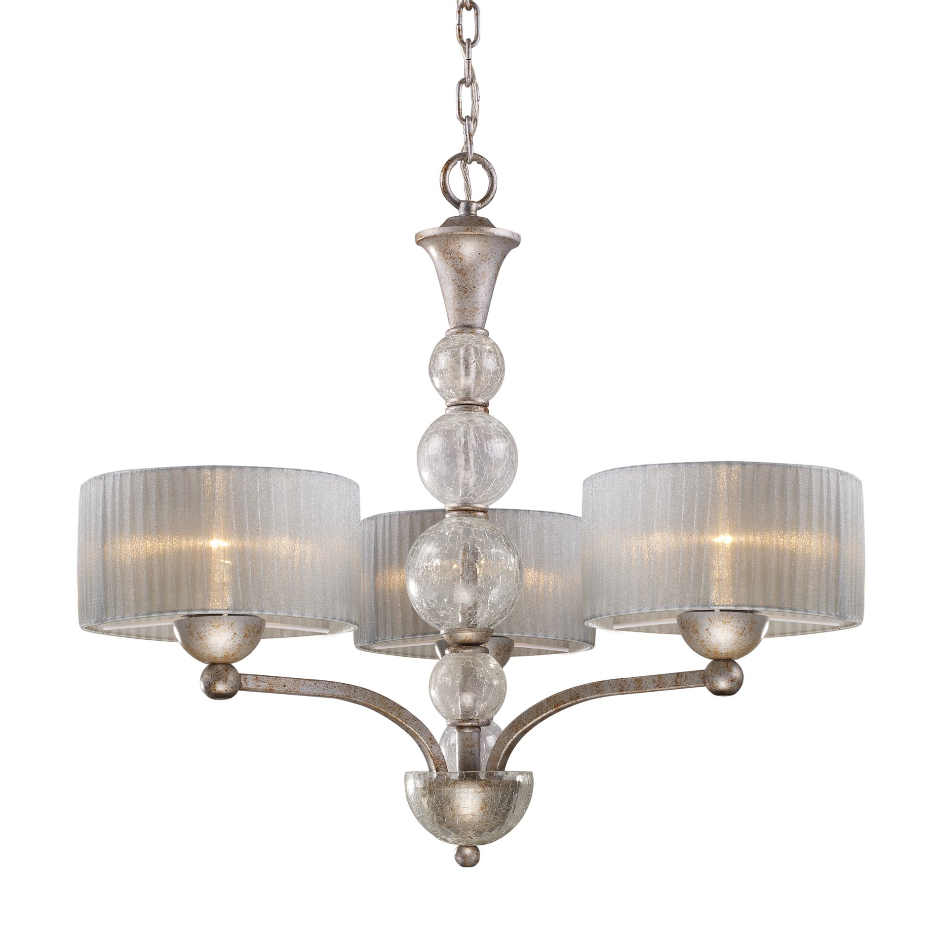 Elk Lighting Fans: Elk Lighting 20008/3 Alexis Transitional Chandelier ELK