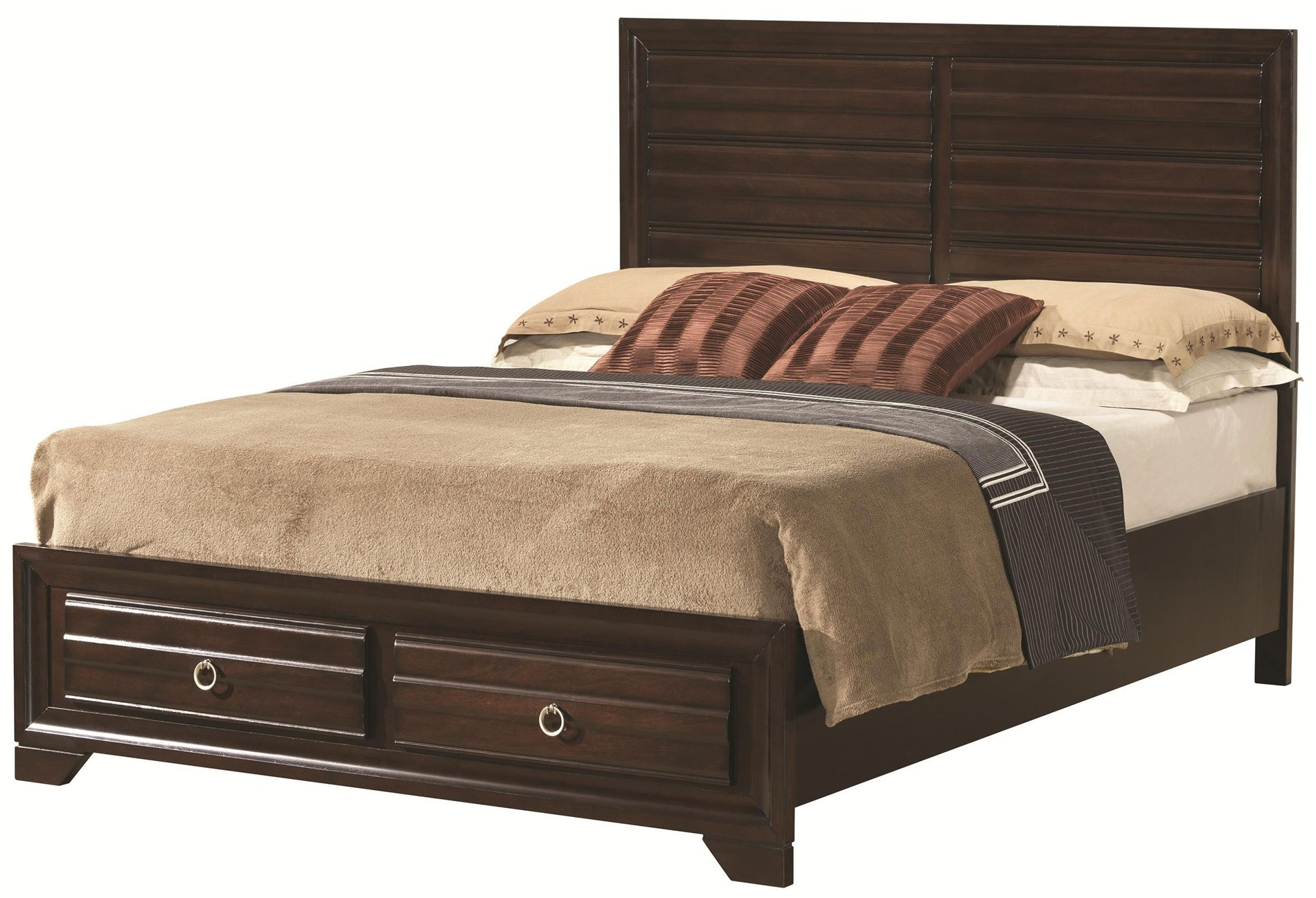 Coaster home 203471kw bryce 20347 california king bed with for California king headboard