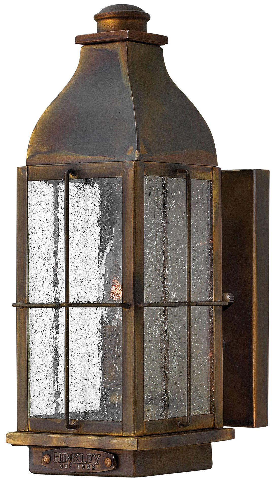 Exterior Wall Sconces Traditional : Hinkley Lighting 2040SN Bingham Traditional Outdoor Wall Sconce - Small HK-2040SN