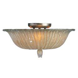maxim lighting 21280acsm florence traditional semi flush