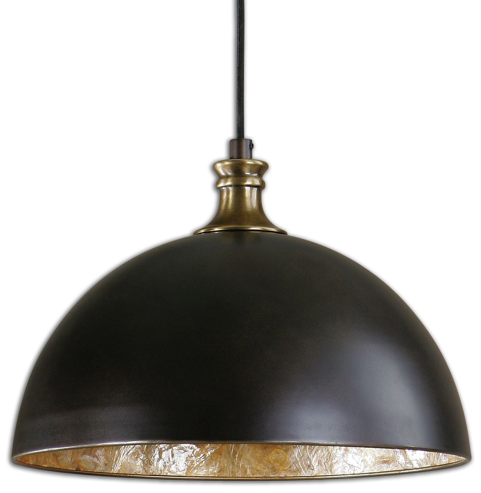 Carolyn Kinder 22028 Placuna Bronze Transitional Pendant
