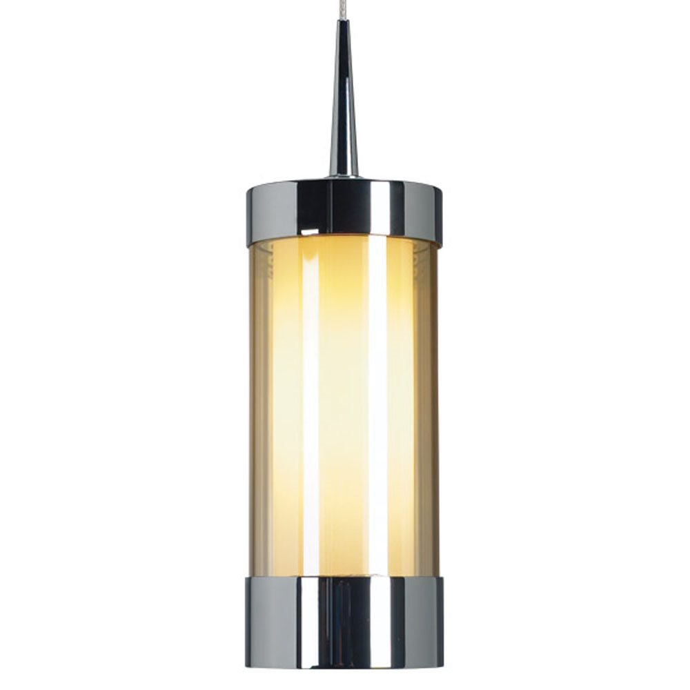 smoky  ch chrome   uniplug. bruck lighting  silva modern  contemporary low voltage pendant