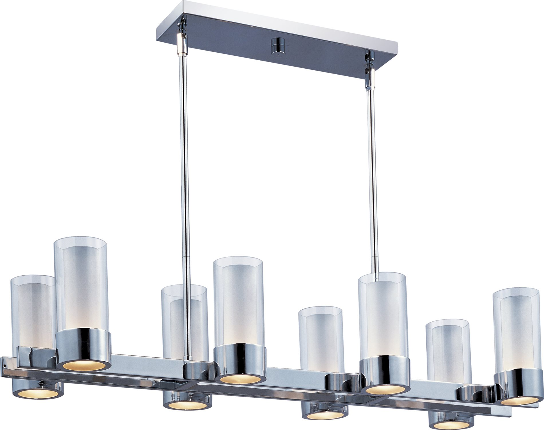 Maxim lighting 23079clftpc silo modern contemporary Modern kitchen light fixtures