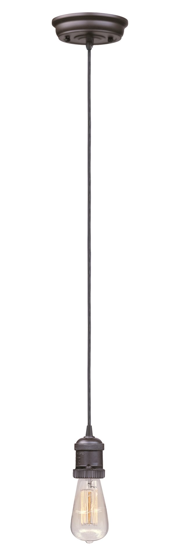 Maxim lighting 25018 mini hi bay mini hi bay 1 light pendant cord bz bronze bulb not included arubaitofo Image collections