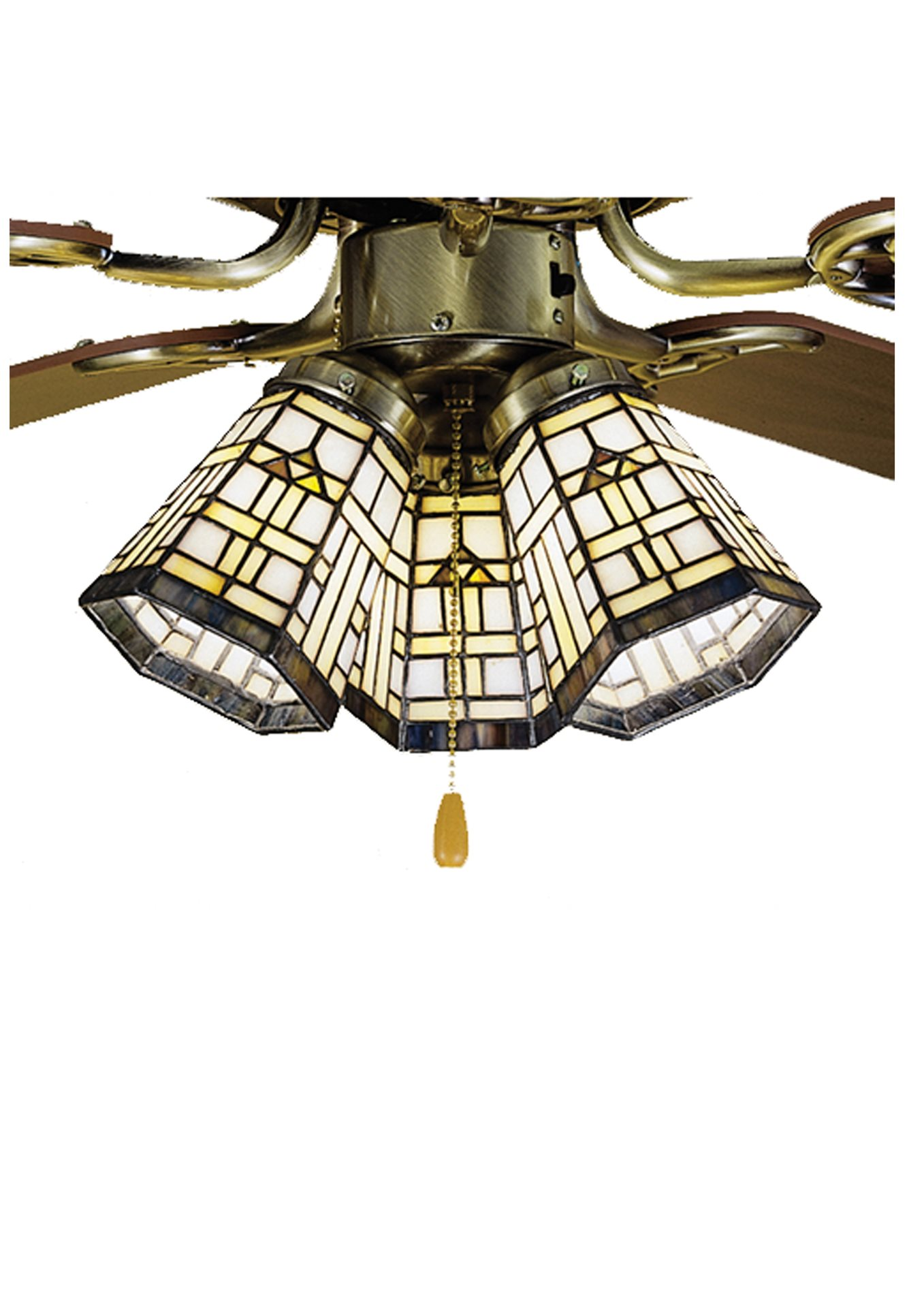 Meyda Tiffany 27461 Arrowhead Mission Ceiling Fan Light