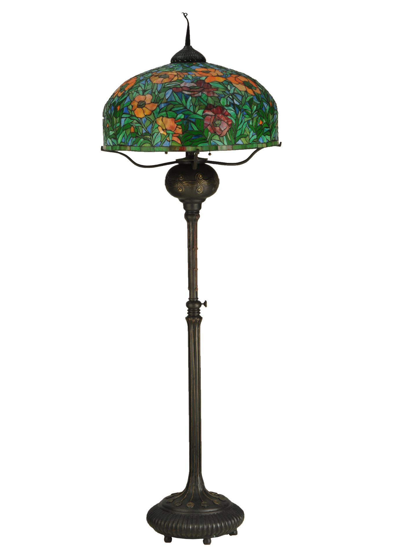 Meyda Tiffany 27544 Museum Collection Poppy Tiffany Floor