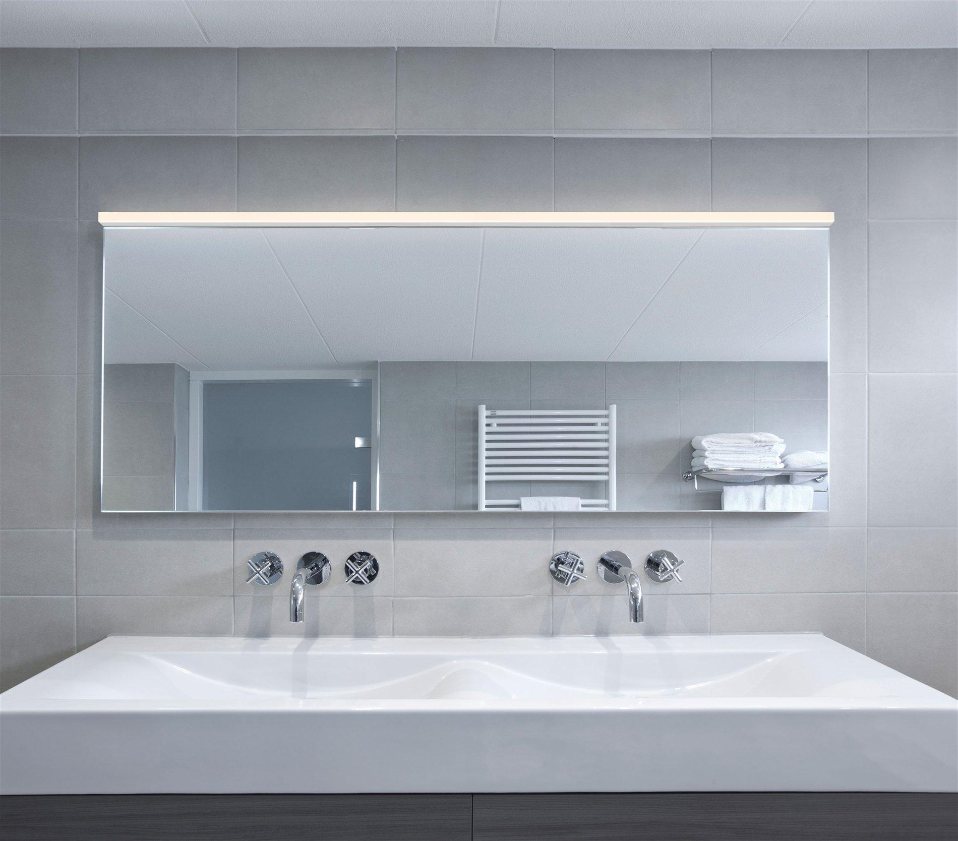 Sonneman lighting stix plus 72 led contemporary - Best led lights for bathroom vanity ...