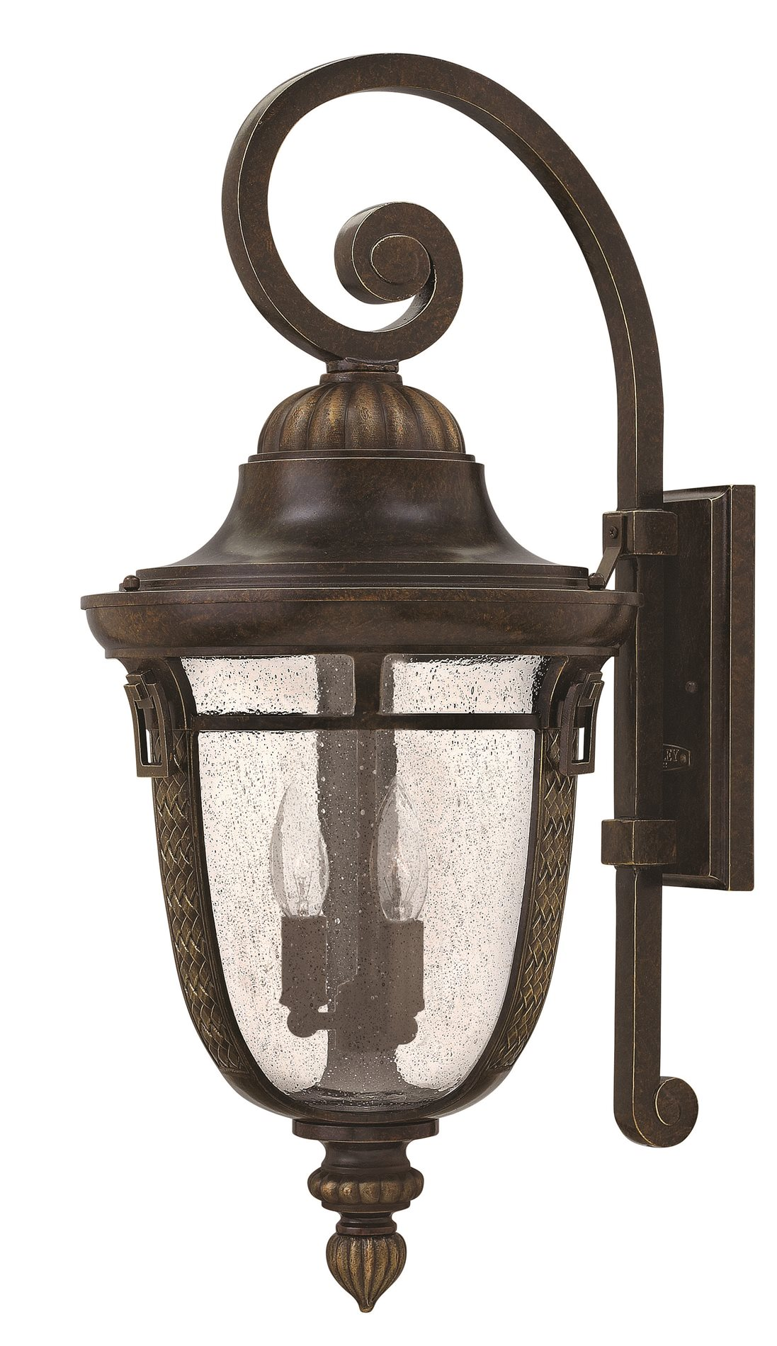 Hinkley lighting 2905rb key west large outdoor wall sconce for Outdoor sconce lighting fixtures