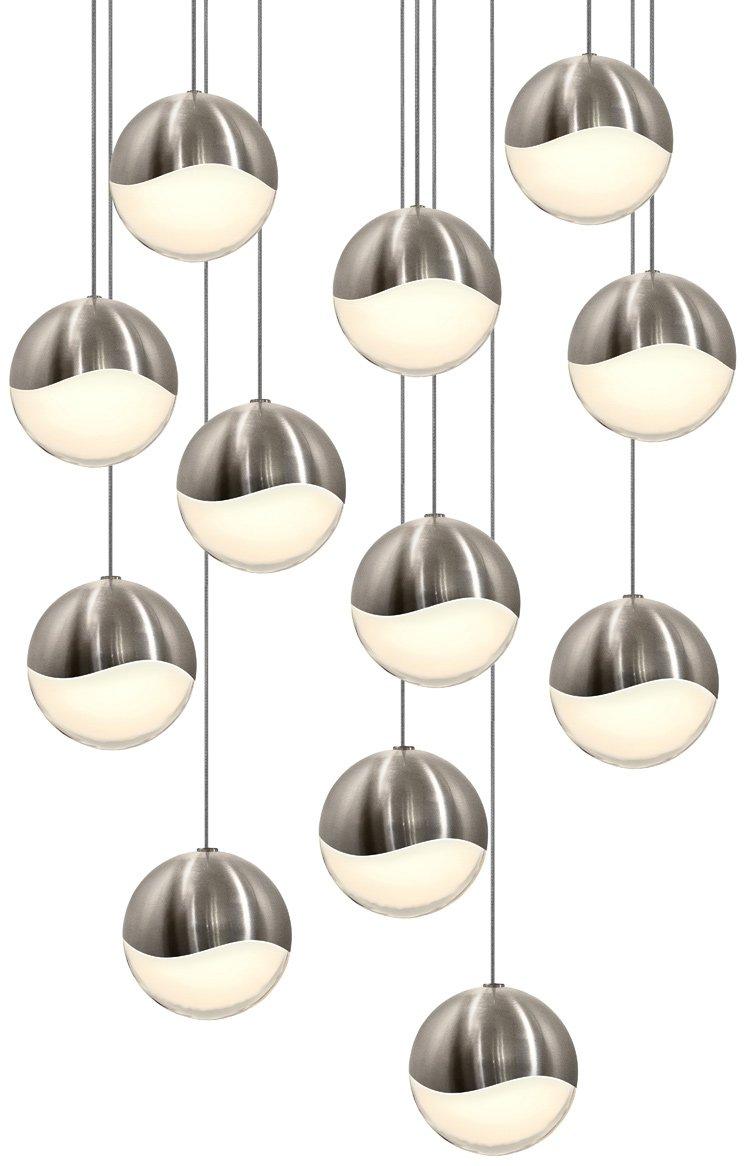 Sonneman Lighting 2917 13 Lrg Grapes 12 Light Round Led