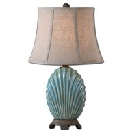 matthew williams seashell traditional table lamp   um 29321 discount uttermost lighting fixtures uttermost home decor      rh   arcadianhome