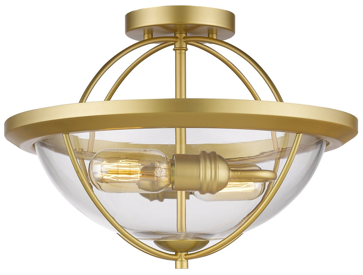 Z lite 3000sf sg persis modern contemporary semi flush for Semi flush mount lighting modern