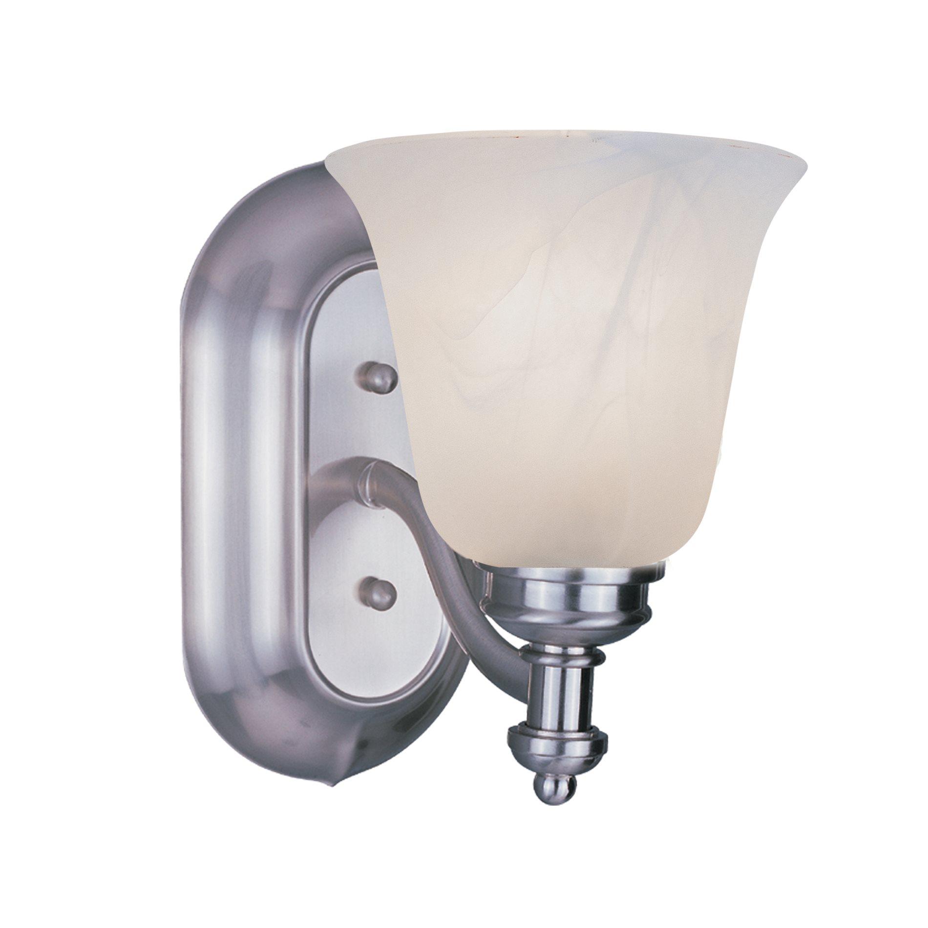 lite hollywood bathroom light zli 301 1v bn see details