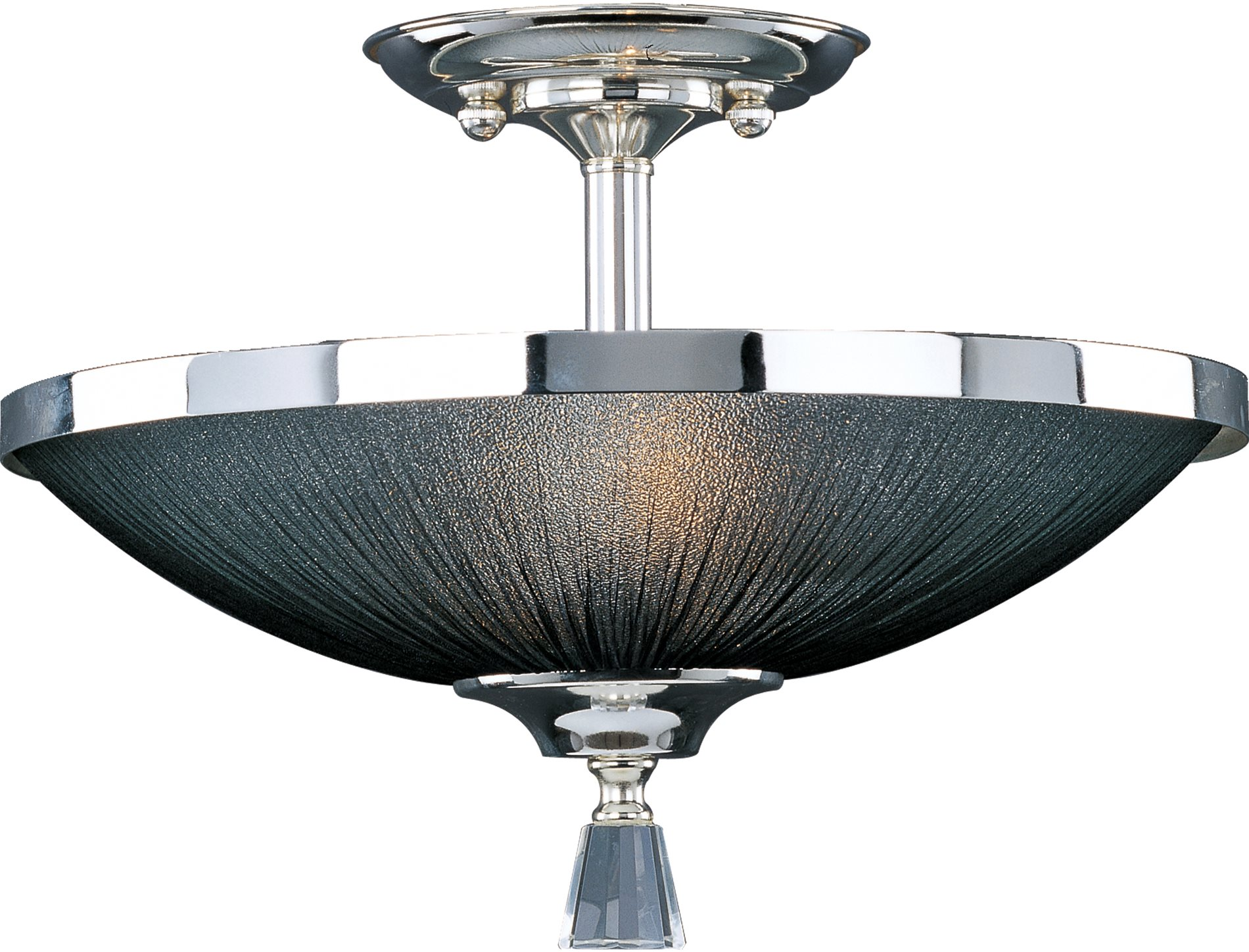 maxim lighting 32001btps elite contemporary semi flush