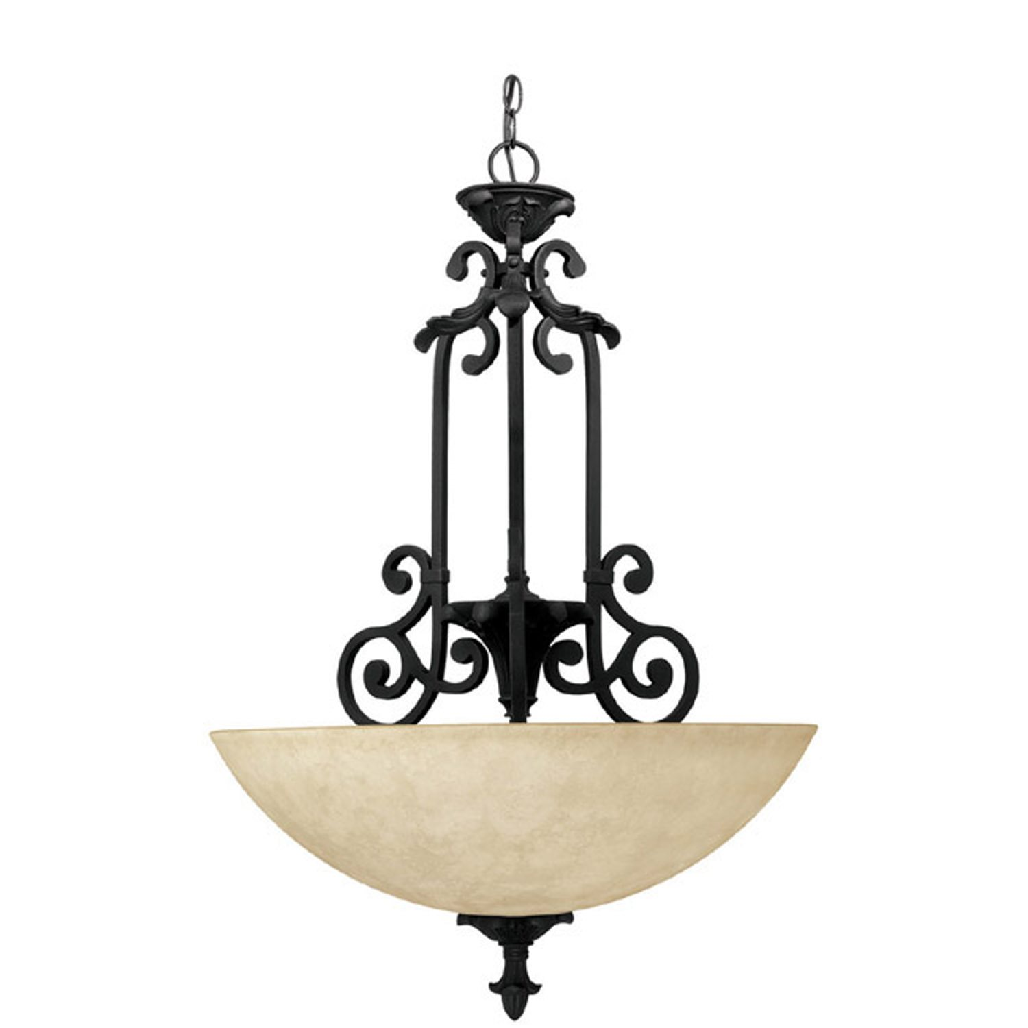 Capital lighting 3263wi mediterranean traditional inverted for Mediterranean lighting fixtures