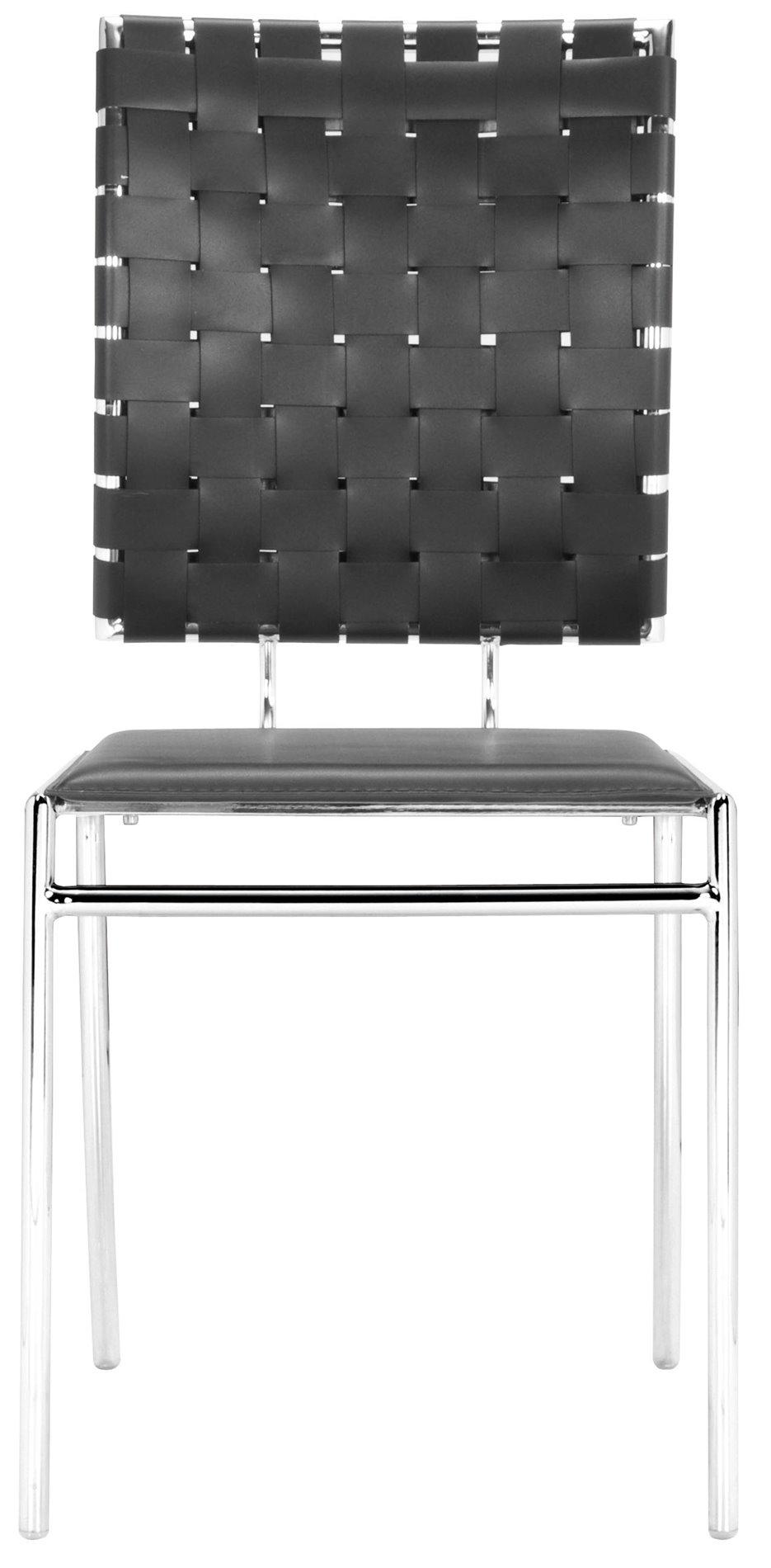 Zuo Modern 333012 Criss Cross Modern Dining Chair Pack Of