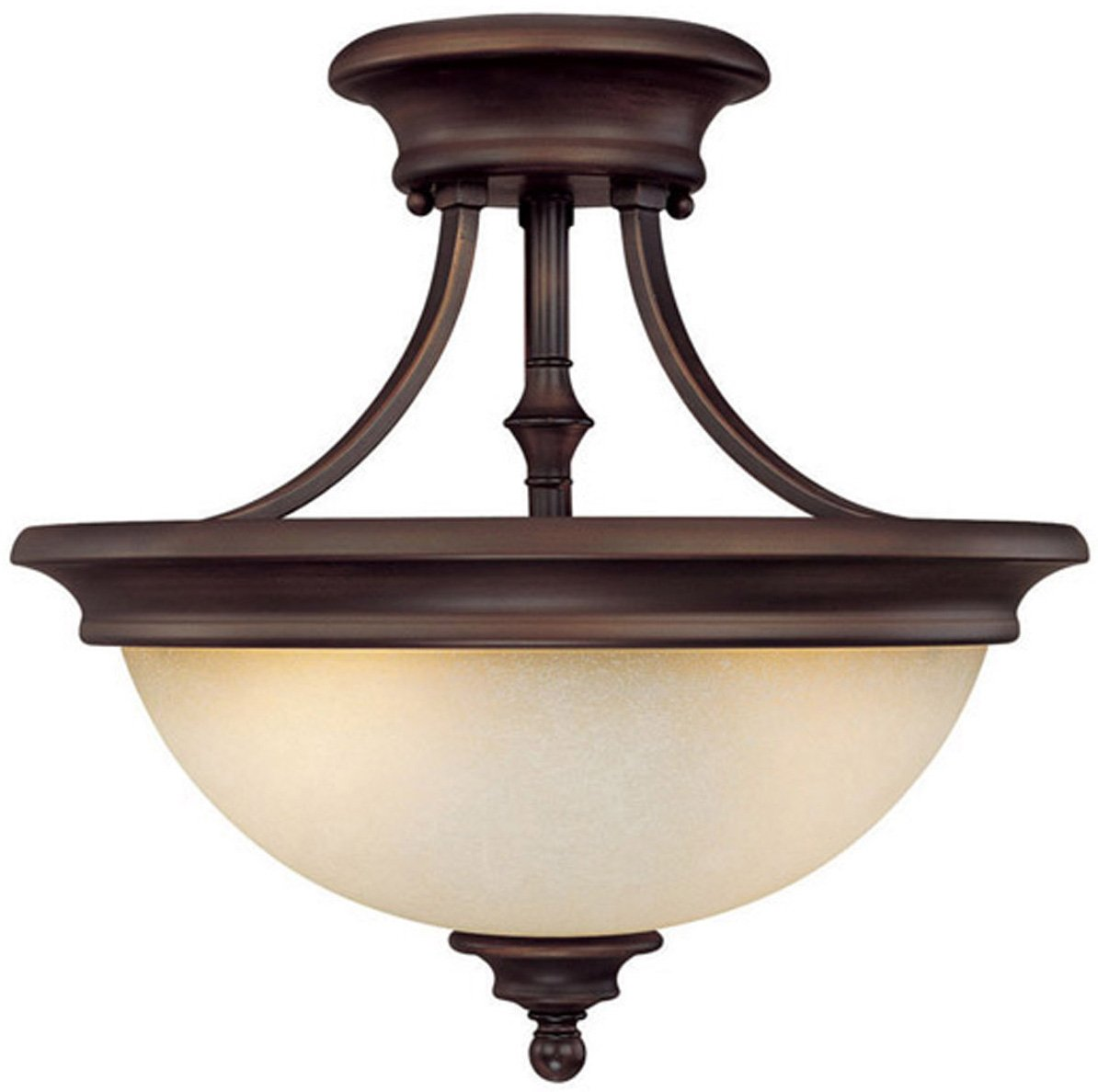 Capital Lighting 3418bb Belmont Transitional Semi Flush