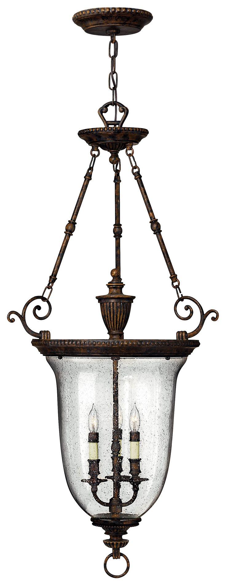 Foyer Lighting Traditional : Hinkley lighting fb rockford traditional foyer light