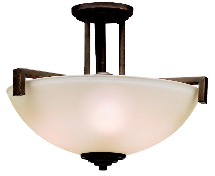 Kichler Lighting 3797OZ Eileen Modern Contemporary Semi Flush Mount Ceiling