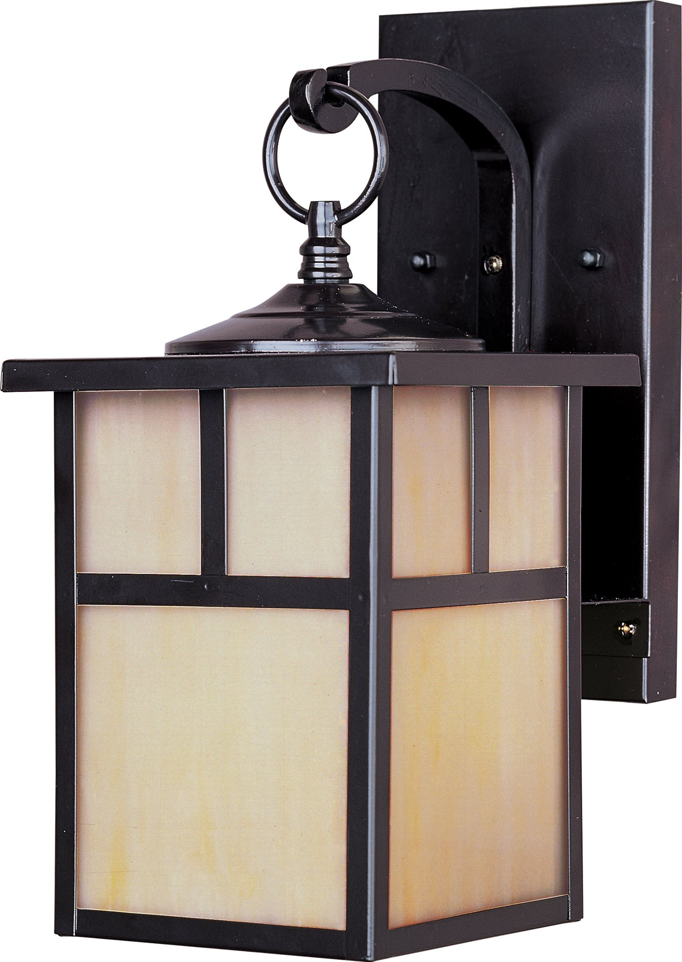 Maxim lighting 4053hobu craftsman transitional outdoor for Front porch light fixtures