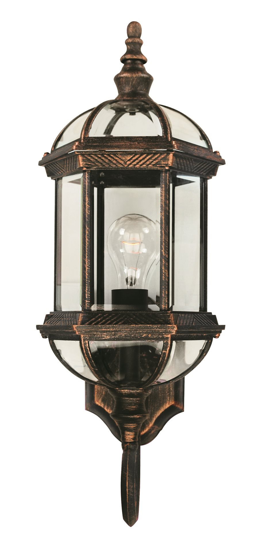 Trans globe lighting 4180 traditional outdoor wall sconce for Outdoor sconce lighting fixtures