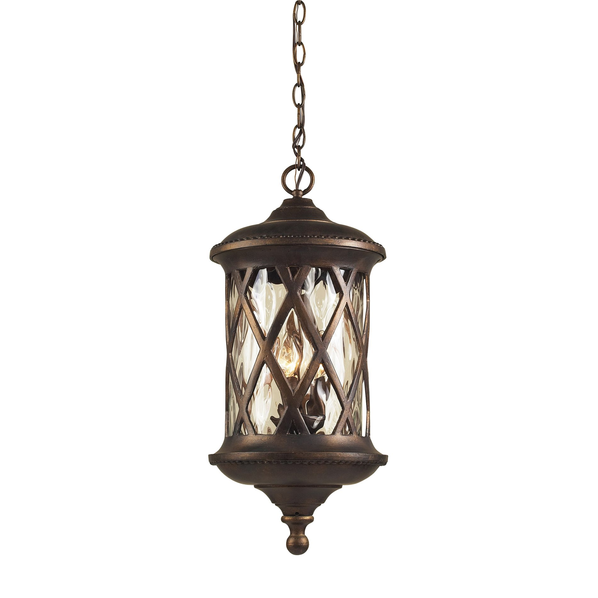 Elk Lighting Fans: Elk Lighting 42033/3 Barrington Gate Transitional Outdoor
