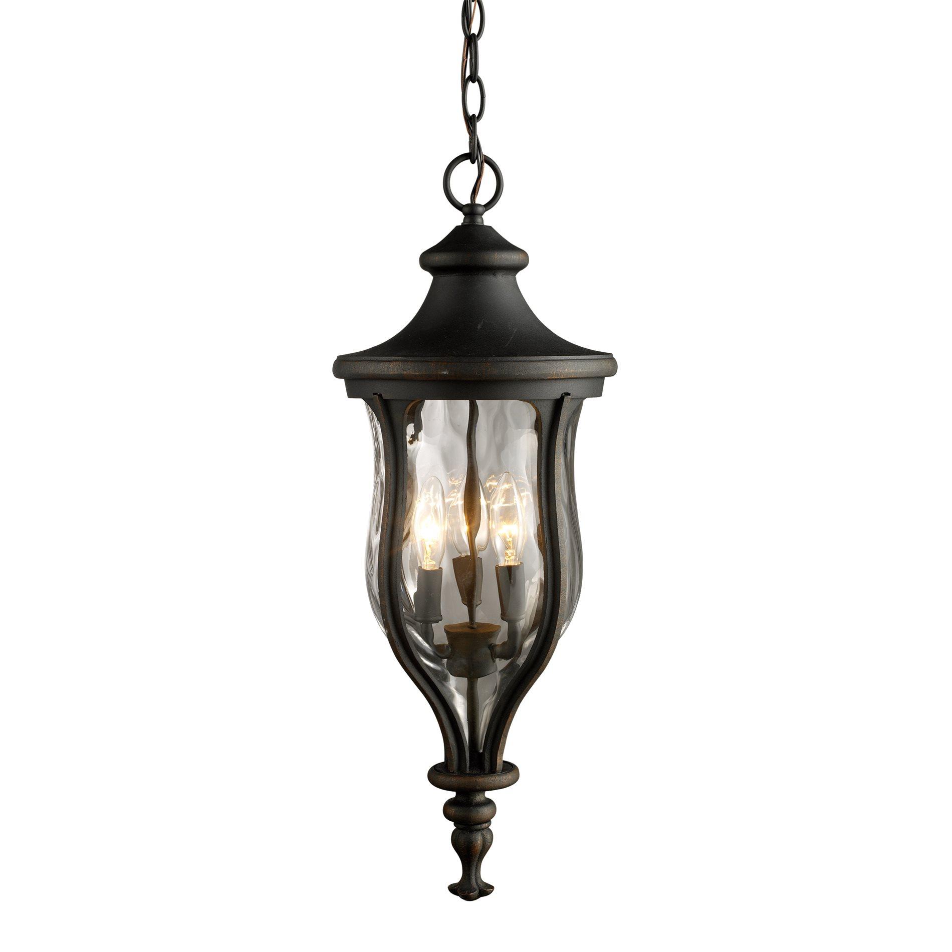 Traditional Outdoor Pendant Lighting : Elk lighting grand aisle traditional outdoor