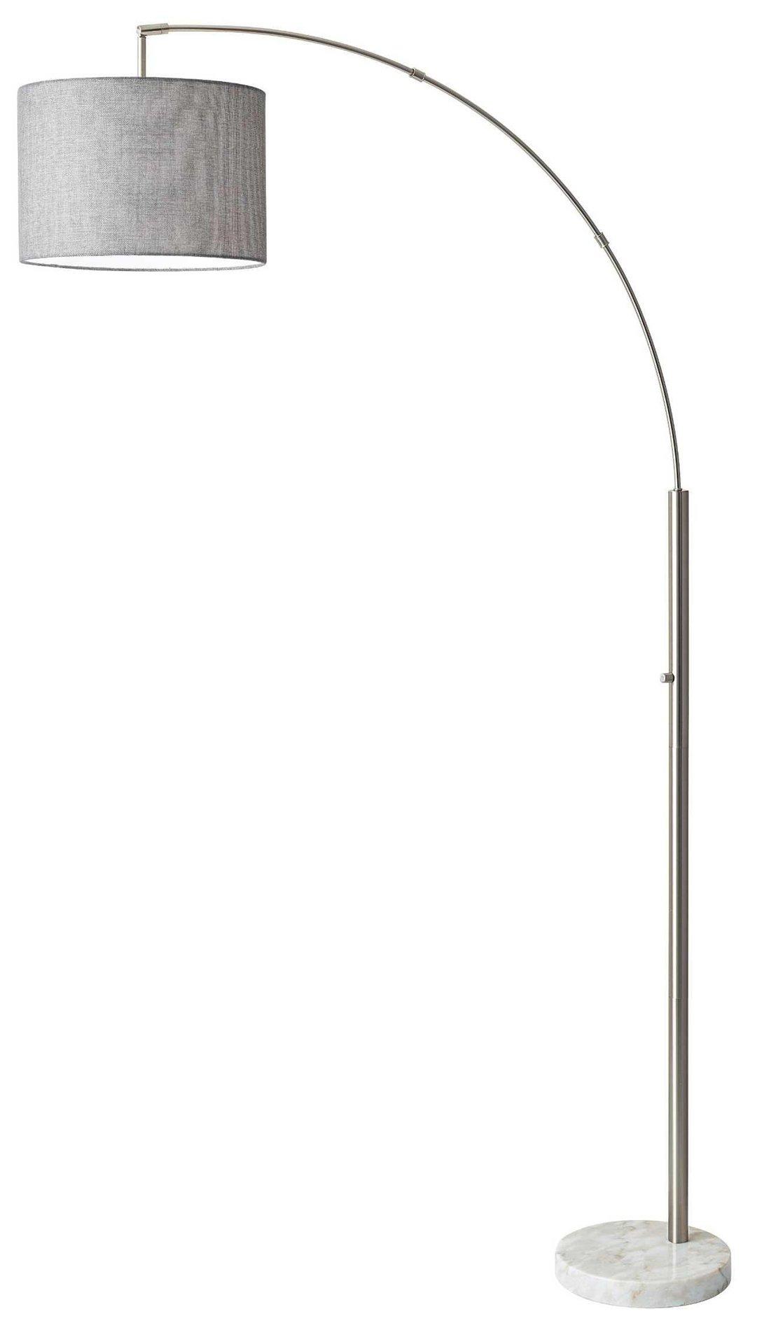 Adesso 4249-22 Bowery Modern / Contemporary Arc Floor Lamp AD-4249-22