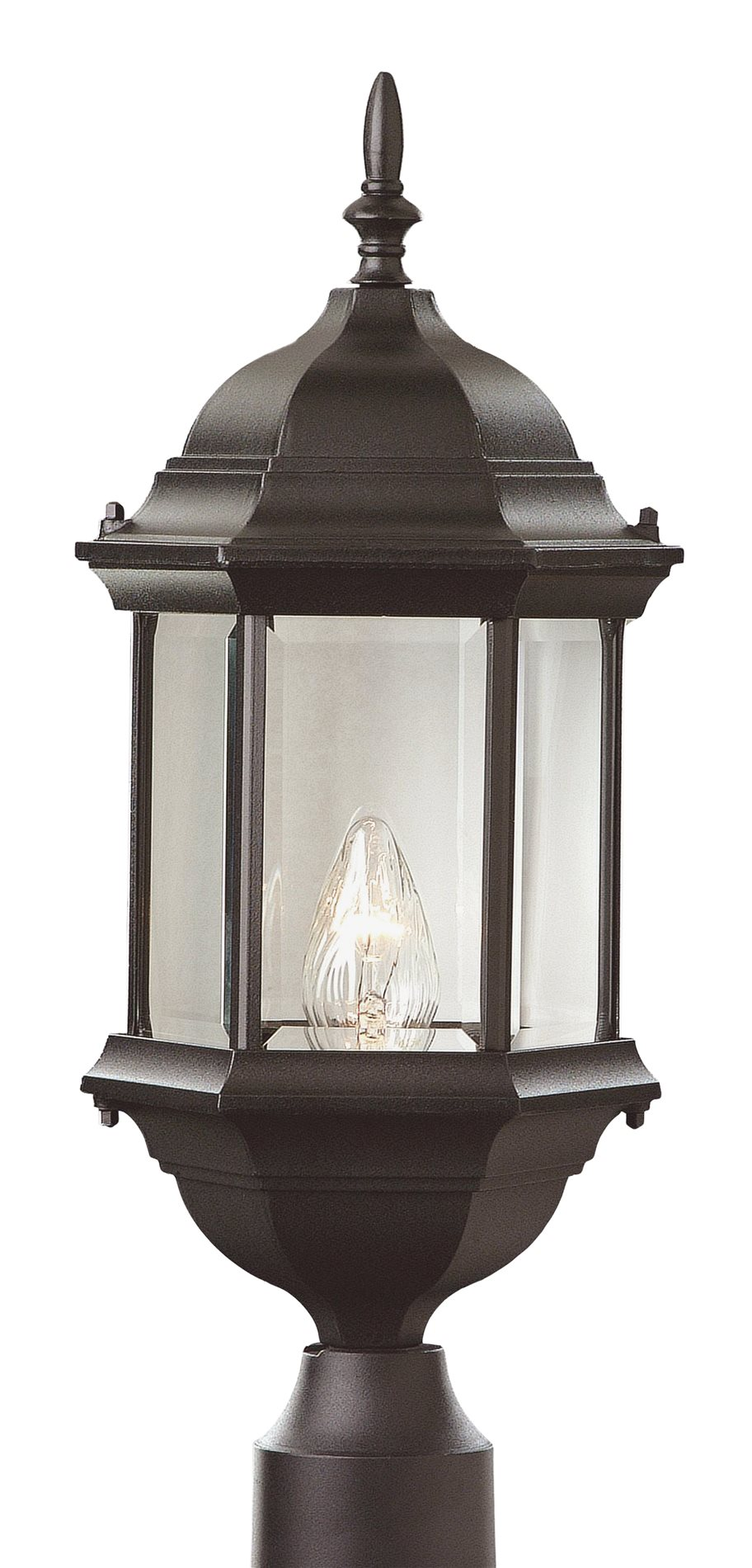 trans globe lighting 4352 transitional outdoor post. Black Bedroom Furniture Sets. Home Design Ideas