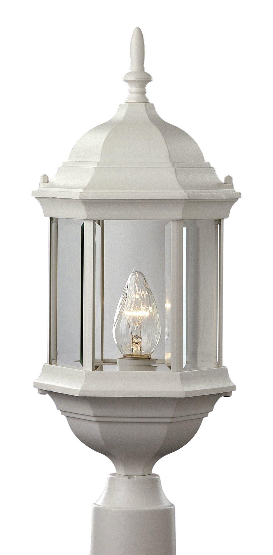 trans globe lighting 4352 transitional outdoor post lantern light tg 4352. Black Bedroom Furniture Sets. Home Design Ideas