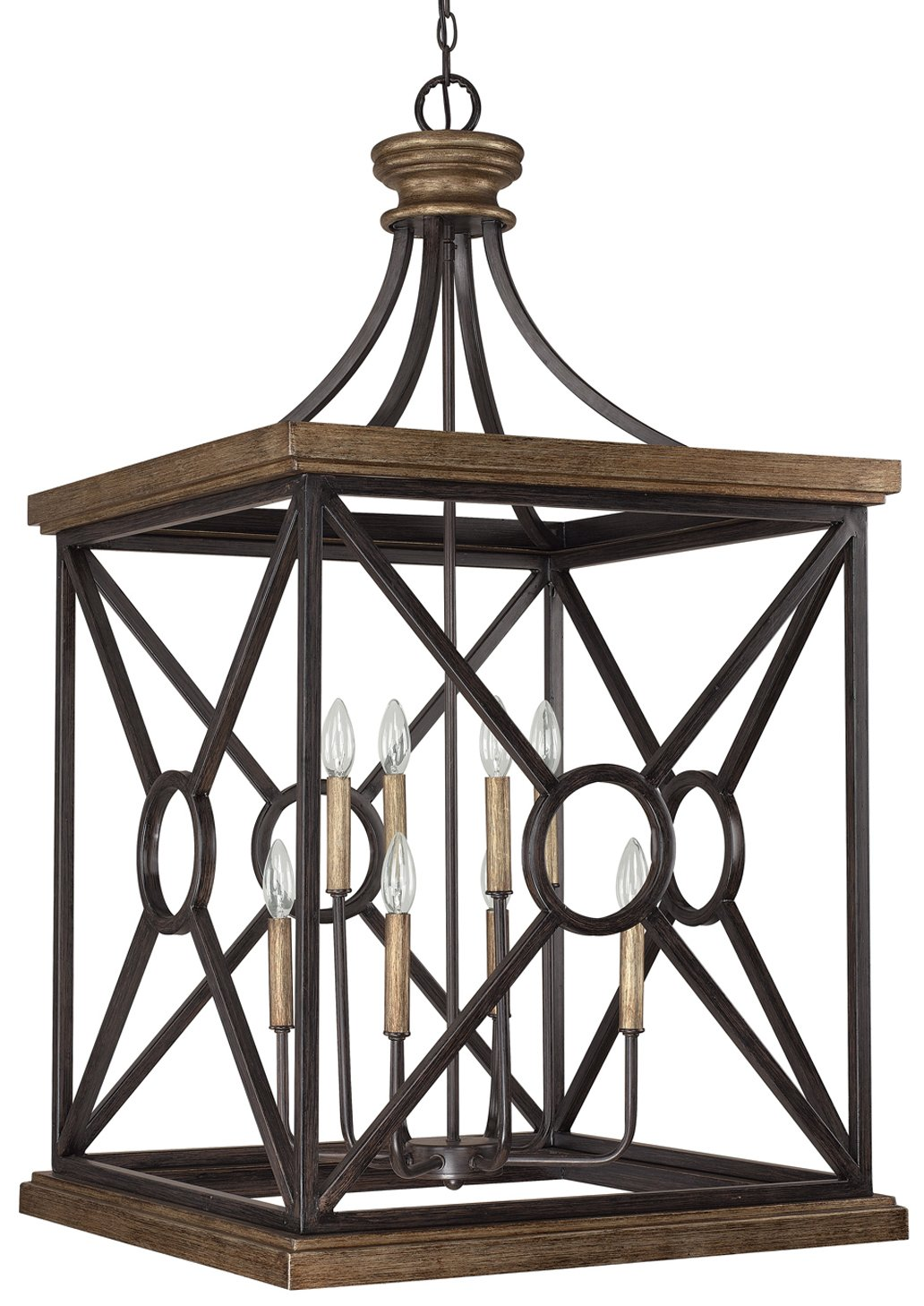 Foyer Ceiling Fan Light : Capital lighting sy landon transitional foyer light cp